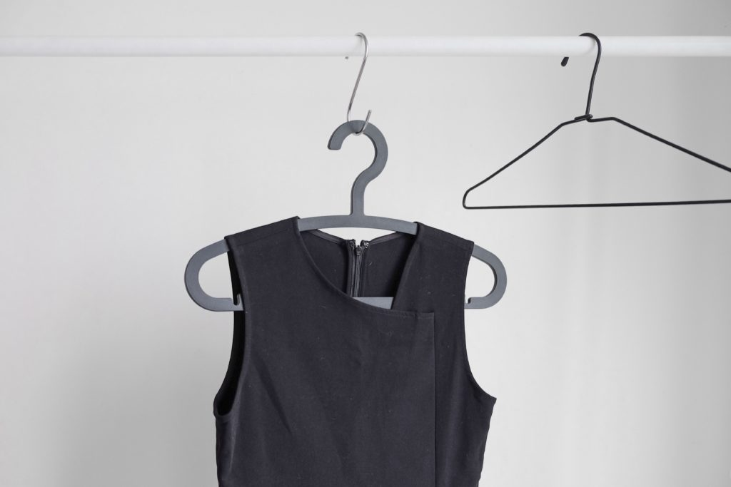 Dress on a hanger, ready to sell. Easy Ways to Earn Money From Home